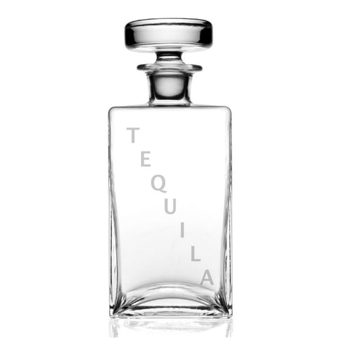Lillian Square Decanter - Tequila