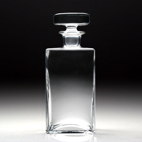 Lillian Square Decanter - Plain