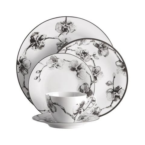 Black Orchid Dinnerware