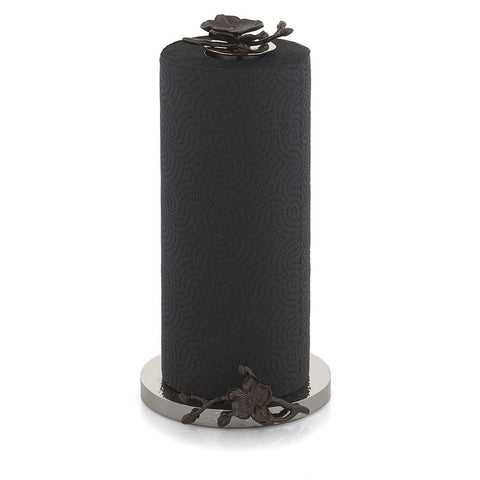 Black Orchid Paper Towel Holder