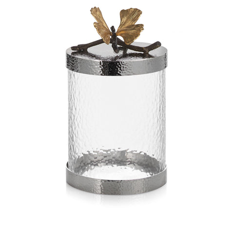 Butterfly Ginkgo Kitchen Canister Small