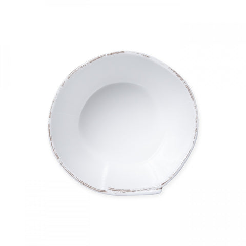 Lastra White Melamine Stacking Cereal Bowl