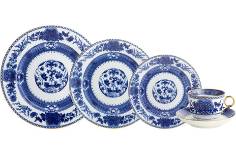 Imperial Blue Five Piece Place Setting