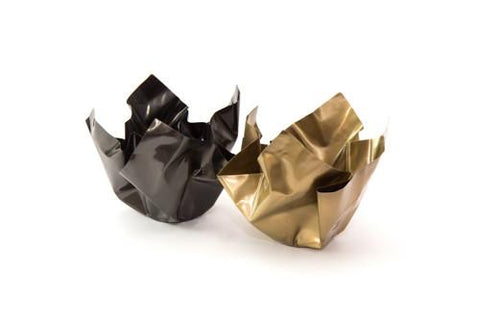 Paper 2 Bowl Darkened Brass