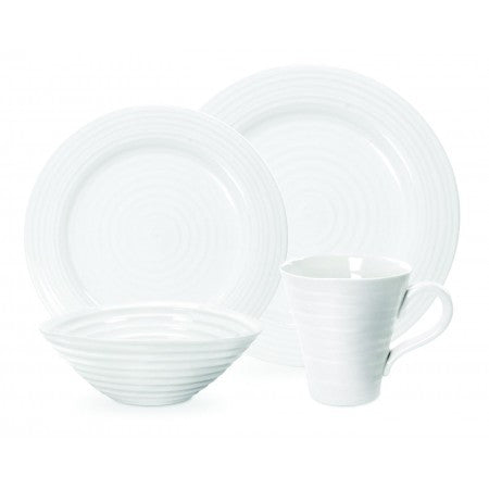 Sophie Conran White 4-Piece Place Setting