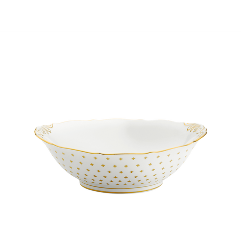 Gigli White Salad Bowl