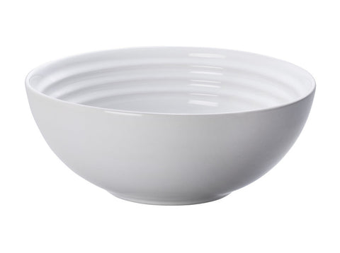 White Cereal Bowls, Set of 4
