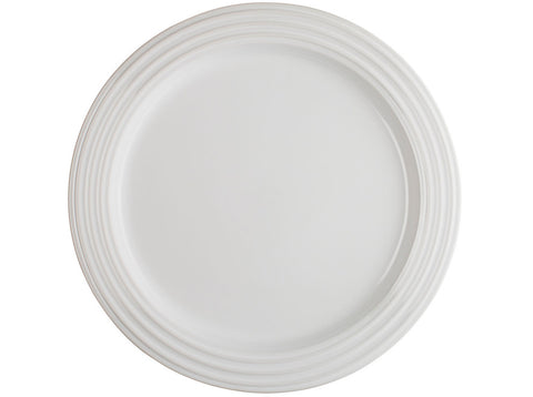 White Dinner Plates, Set of 4