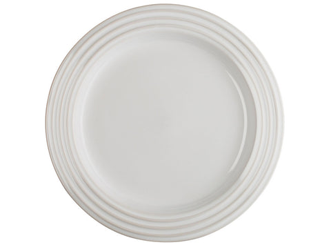 White Salad Plates, Set of 4