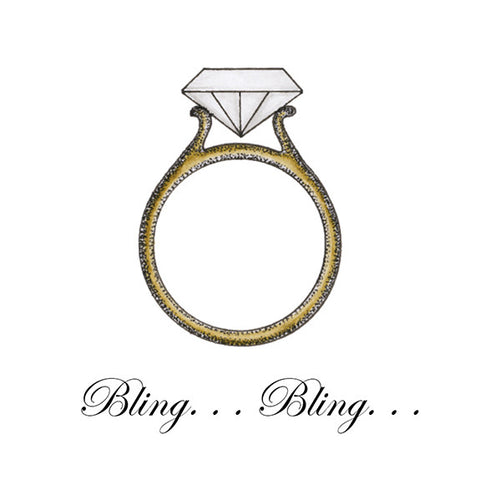Bing Bling Ring Mini Gift Enclosure