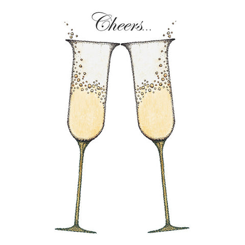 Champagne Glasses Mini Gift Enclosure
