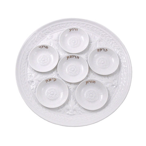 Louvre Mini Seder Plates, Set of 6