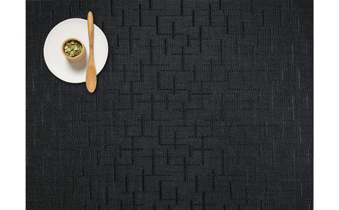 Bamboo Placemat Jet Black