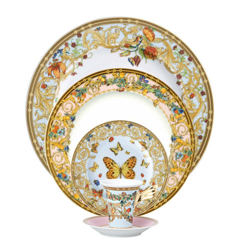 Butterfly Garden Five Piece Place Setting
