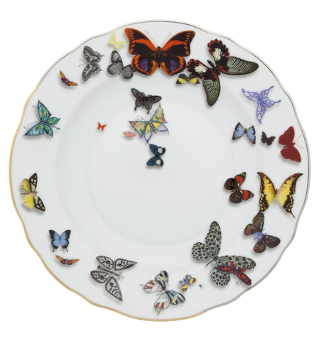 Butterfly Parade Soup Plate