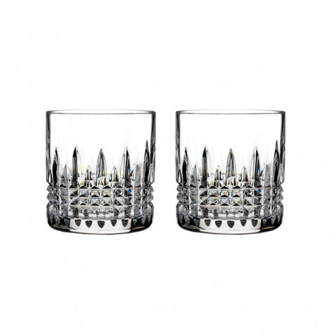 Lismore Connoisseur Diamond Straight Sided Tumbler, Pair