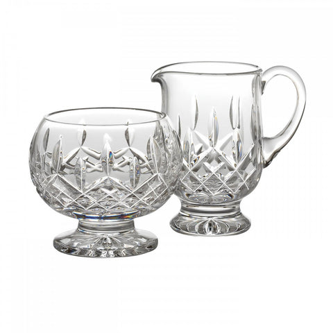 Lismore Footed Sugar & Creamer