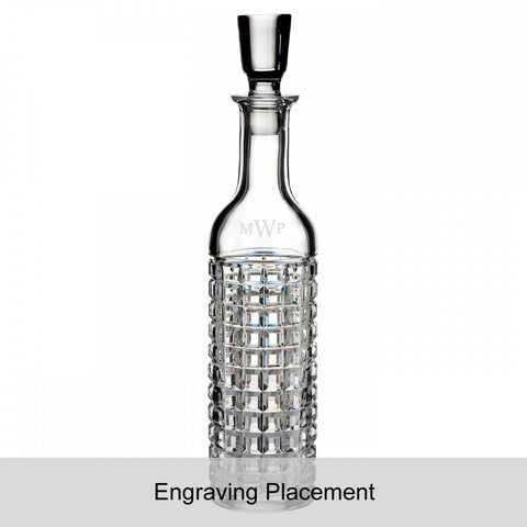 London Tall Whiskey Decanter