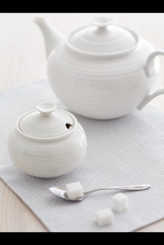 Sophie Conran White Covered Sugar