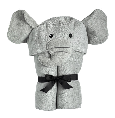 Ellie Elephant Hooded Towel