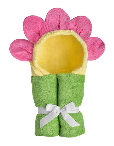 Fiona Flower Hooded Towel