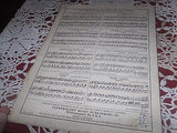 1918 GENERAL PERSHING One Step Vandersloot Military WWI Officer Sheet Music - Back from the dead antiques