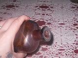 ANTIQUE MEDICINE BOTTLE DARK AMBER PHARMACY CHEMICAL 1880'S 8in - Back from the dead antiques