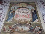 ANTIQUE RELIGIOUS LITHOGRAPH PICTORIAL FAMILY BIBLE PAGE COLOR LITHO 1890'S - Back from the dead antiques