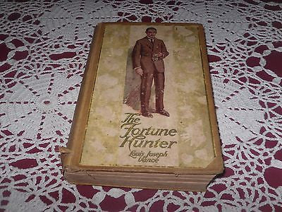 ANTIQUE THE FORTUNE HUNTER by Louis J. Vance, rare US 1910 crime detective 1ST - Back from the dead antiques