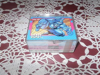1992 IMPEL UNCANNY X-MEN Marvel Comics Complete Trading Card Set #1-100 - Back from the dead antiques