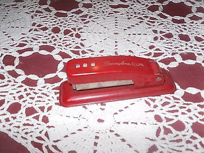 VINTAGE SWINGLINE CUB STAPLER RED