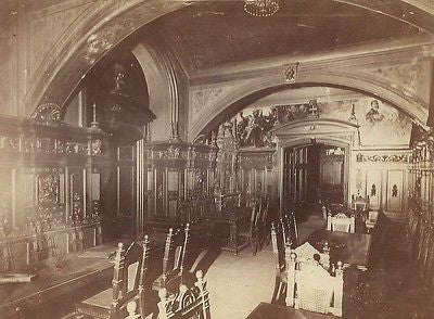 CABINET PHOTO BARROOM WINE CELLAR COUNCIL WINE BREMEN RATSKELLER GERMANY 1880'S - Back from the dead antiques