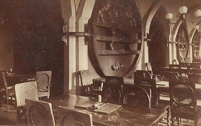 CABINET PHOTO BARROOM WINE CELLAR COUNCIL BREMEN RATSKELLER GERMANY 1880'S - Back from the dead antiques