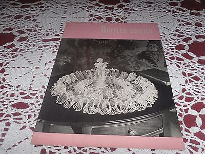 VINTAGE CROCHET BOOK RUFFLED DOILIES & PANSY DOILIES ILLUSTRATED PATTERNS C 1948
