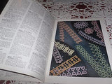 VINTAGE CROCHETING BOOK SEWING EDGING TATTING LILLY PATTERNS C 1940'S