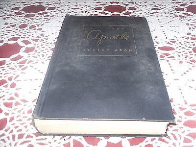 *VINTAGE* The Apostle by Sholem Asch 1943 5th Impression Translated by M Samuel - Back from the dead antiques