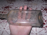ANTIQUE MEDICINE BOTTLE GREAT SEAL THE STYRON BEGGS COMPANY NEWARK OHIO 1890'S - Back from the dead antiques