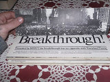 VINTAGE BREAKTHROUGH HISTORY CHANGING ACHIEVEMENTS MADE MERIT CIGARETTES 1978