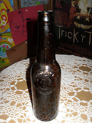 ANTIQUE BEER BOTTLE AMBER IROQUOIS BREWING CO BRG BUFFALO NY - Back from the dead antiques