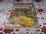 VINTAGE POPULAR MECHANICS MAGAZINE BOWLING DOWN FORESTS FOR SUPER DAM 1950