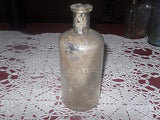 ANTIQUE MEDICINE BOTTLE B. KEITH & CO NEW YORK PHARMACY CHEMICAL 1890'S - Back from the dead antiques