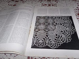 VINTAGE CROCHET BOOK PINEAPPLES ON PARADE PATTERNS RUNNERS DOILIES ETC 1948
