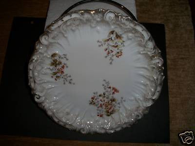 ANTIQUE GESCHUZT PLATE GERMANY MINT DINNERWARE GLASS - Back from the dead antiques