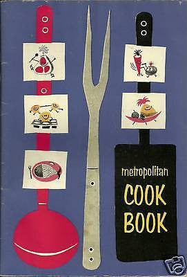 VINTAGE RECIPIES METROPOLITAN COOK EDITION JUNE 1959