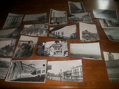 ANTIQUE PHOTO LOT 21 ARCHITECTURE & CITYSCAPE ITALY EUROPE 1920--1930 - Back from the dead antiques
