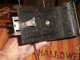 ANTIQUE RARE FOLDING CAMERA GERMAN MADE DUPLEX DRP NICE PHOTOGRAPHY VERY RARE - Back from the dead antiques