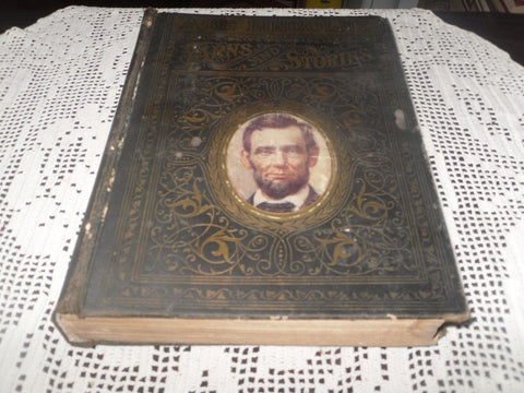 ABE LINCOLNS YARNS AND STORIES, FUNNY & WITTY ANECDOTES, 1902, PRESIDENT, FS - Back from the dead antiques