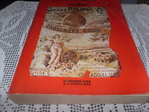 1897 Sears Roebuck Catalogue, 1968 Reprint/Nice Copy great condition - Back from the dead antiques