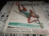 ANTIQUE COLLIER'S MAGAZINE NATIONAL WEEKLY AUGUST 1936 GREAT ADVERTISING - Back from the dead antiques