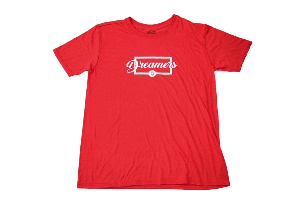 Men's Box Script (Red)